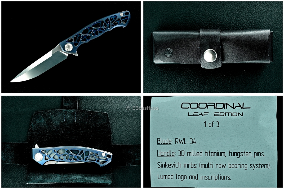 Dmitry Sinkevich Custom Coordinal Leaf Prototype #1
