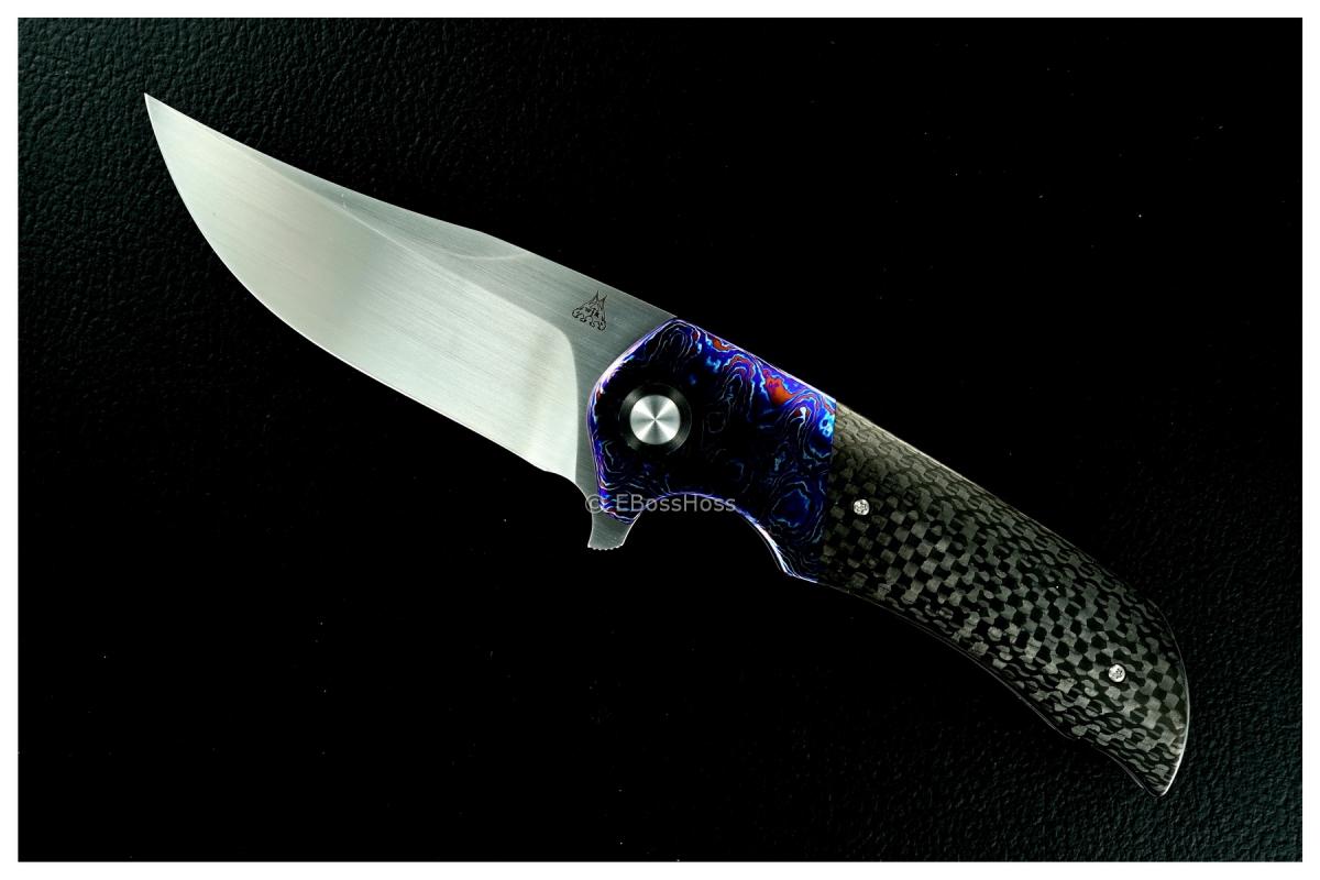 WR Bladeworks (Walter Randolph) Deluxe Custom Wyvern Flipper