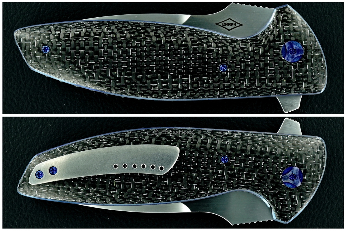 Peter Carey Custom Cayman XL N Flipper
