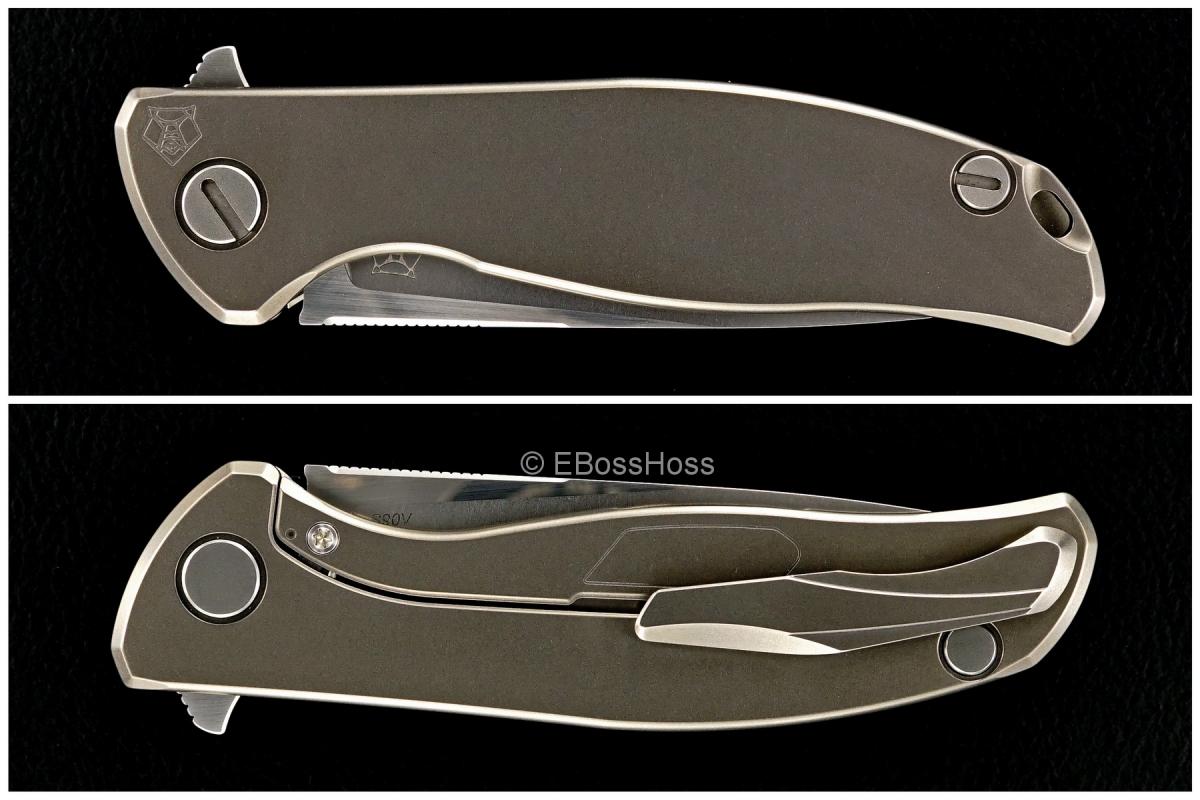 Sergey Shirogorov Custom Division Slim Mod 95 SRRBS Flipper