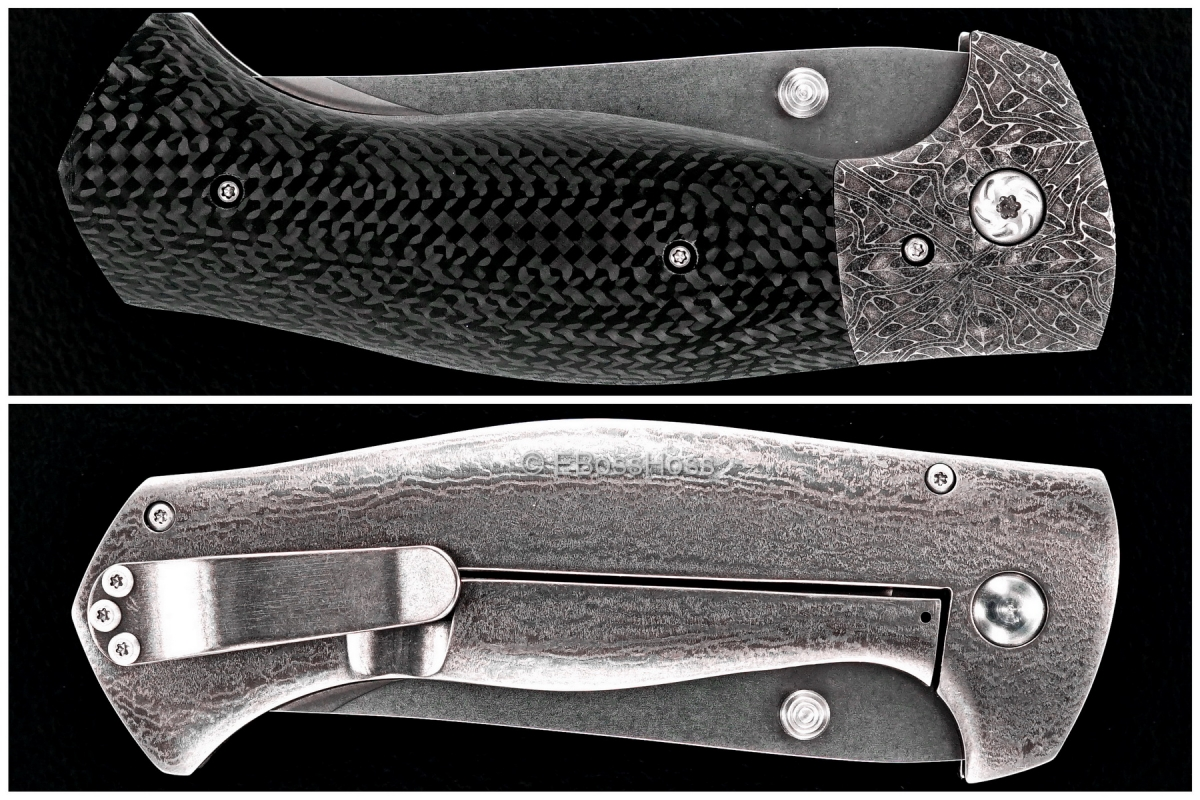 Les George Custom Bolstered Hydra Framelock