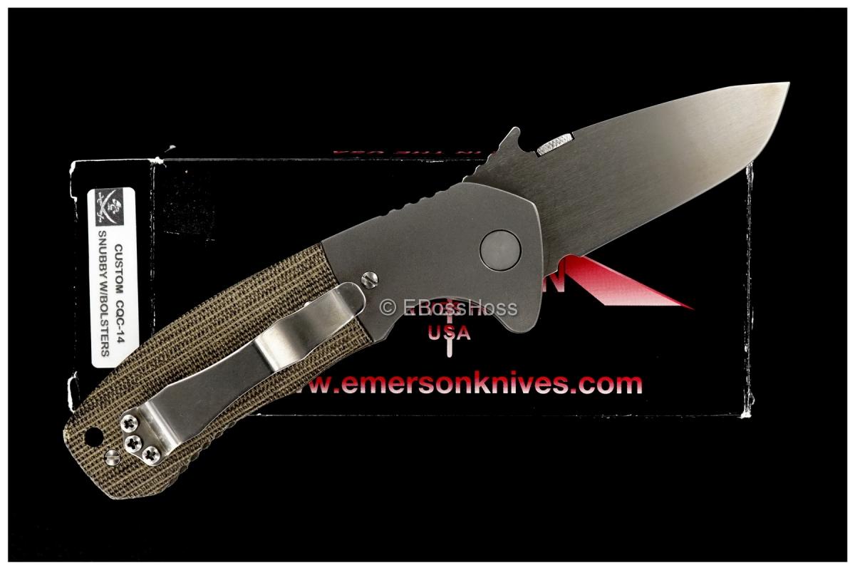 Ernie Emerson Custom CQC-14 Snubby