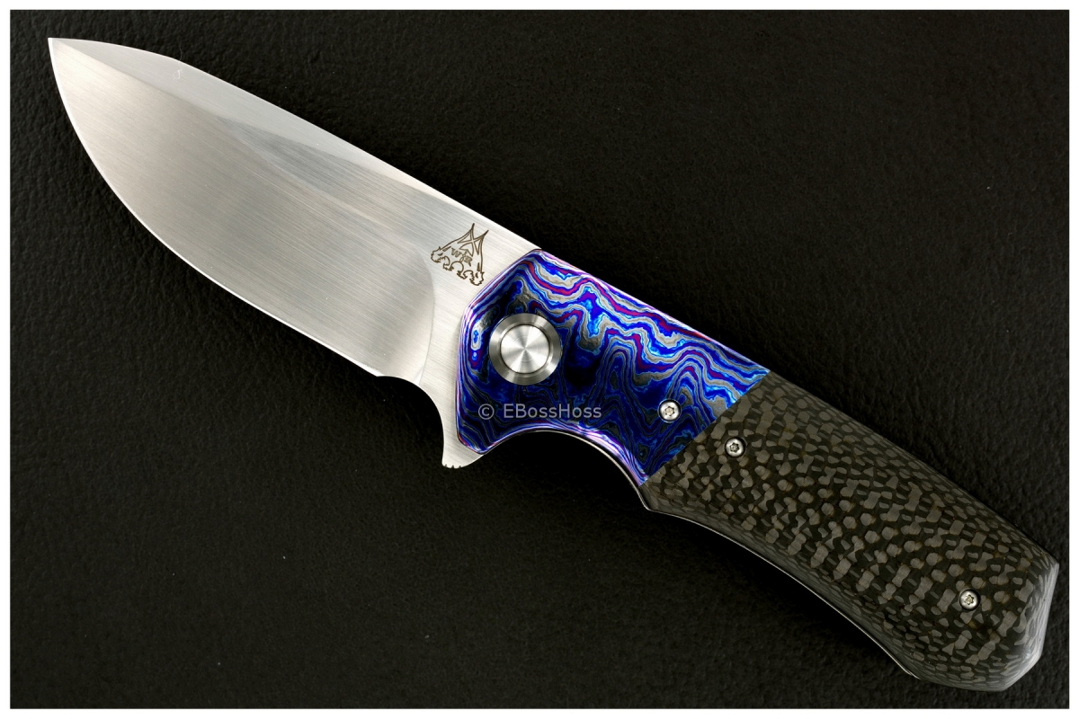 WR Bladeworks (Walter Randolph) Deluxe Custom Typhon Flipper