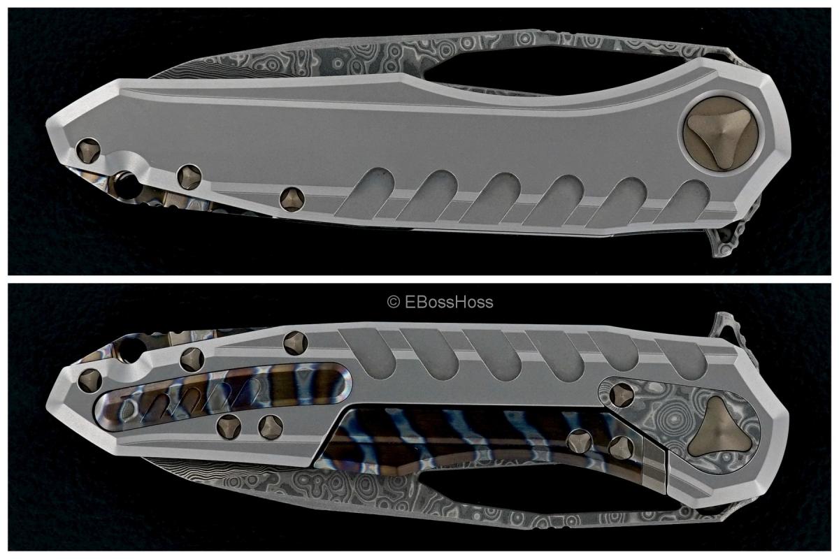 Deryk Munroe / Tony Marfione Collab Hattori San-Mai Cowry-X Core Sigil Flipper