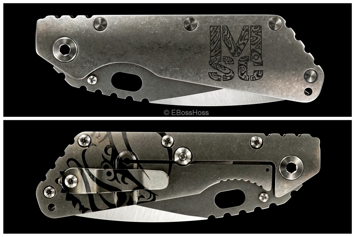Mick Strider Custom (MSC) Nightmare XL with Titanium Hardware & Circum-grind