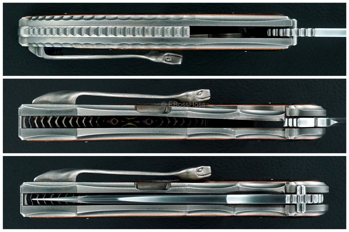 Korth Cutlery Custom Deluxe Reptile Flipper