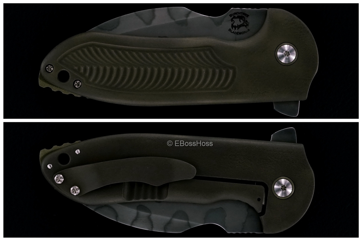 Michael Burch (Burchtree Bladeworks) Custom Genesis Framelock Flipper