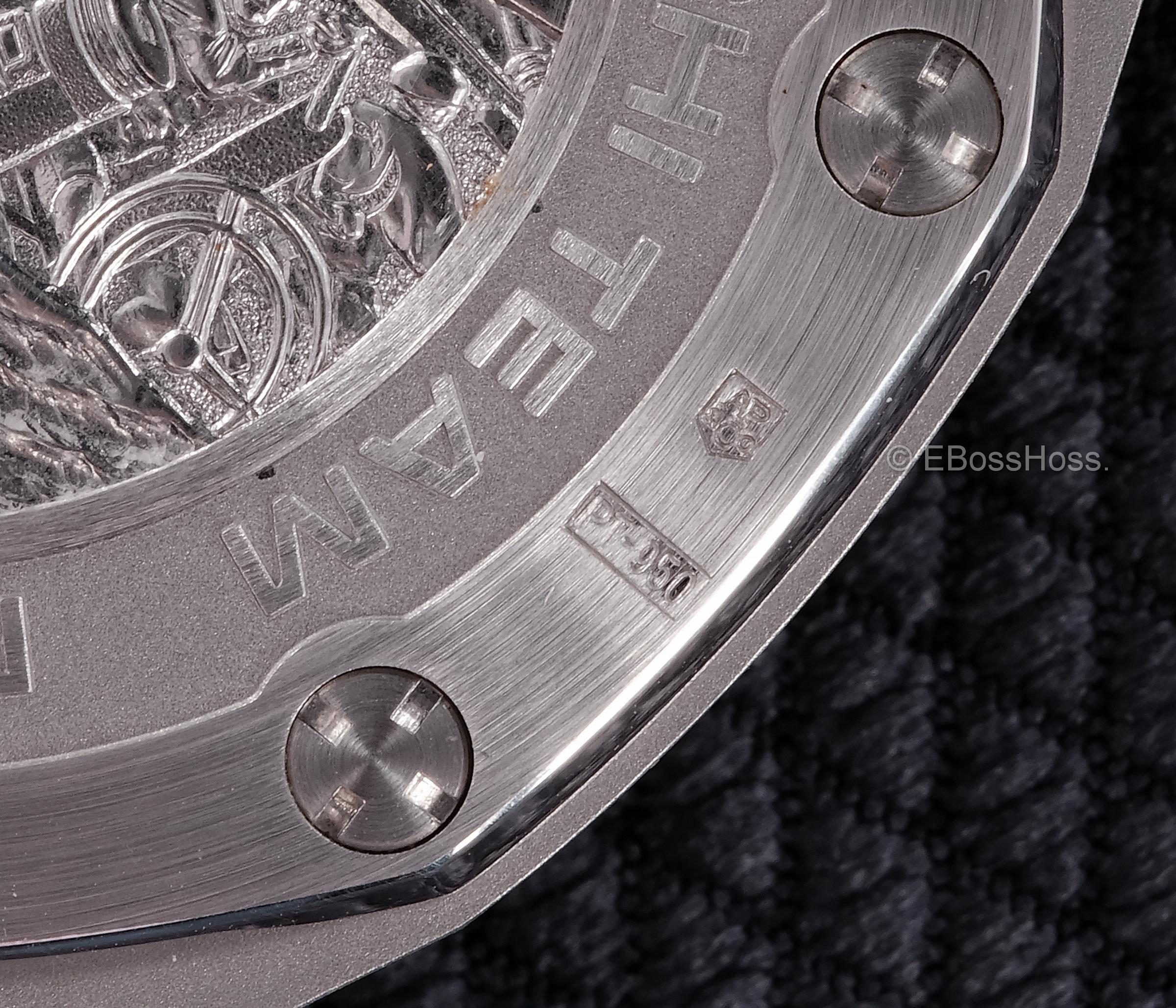 Audemars Piguet (AP) ROO Alinghi Team Chronograph (Platinum) - 26062PT.OO.A002CA.01