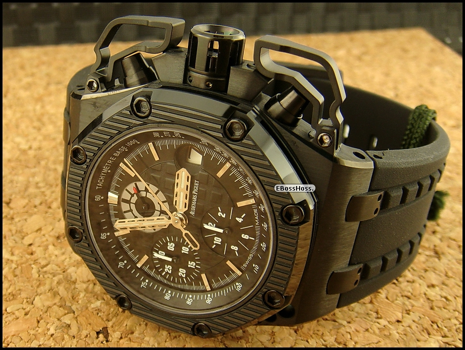 AP  Royal Oak Offshore Survivor Chronograph