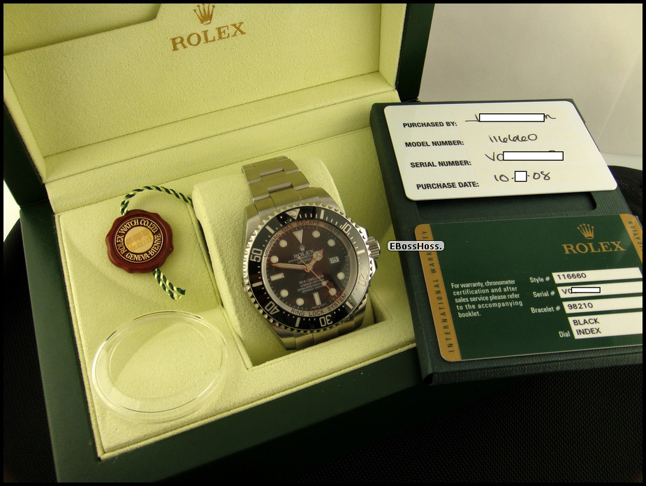 Rolex DEEPSEA Sea-Dweller in Stainless