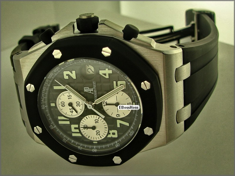 AP Royal Oak Offshore Rubber-Clad