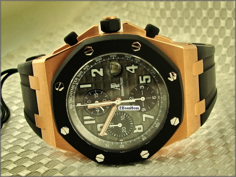 AP Royal Oak Offshore ROO Rubber-clad (Rose Gold)