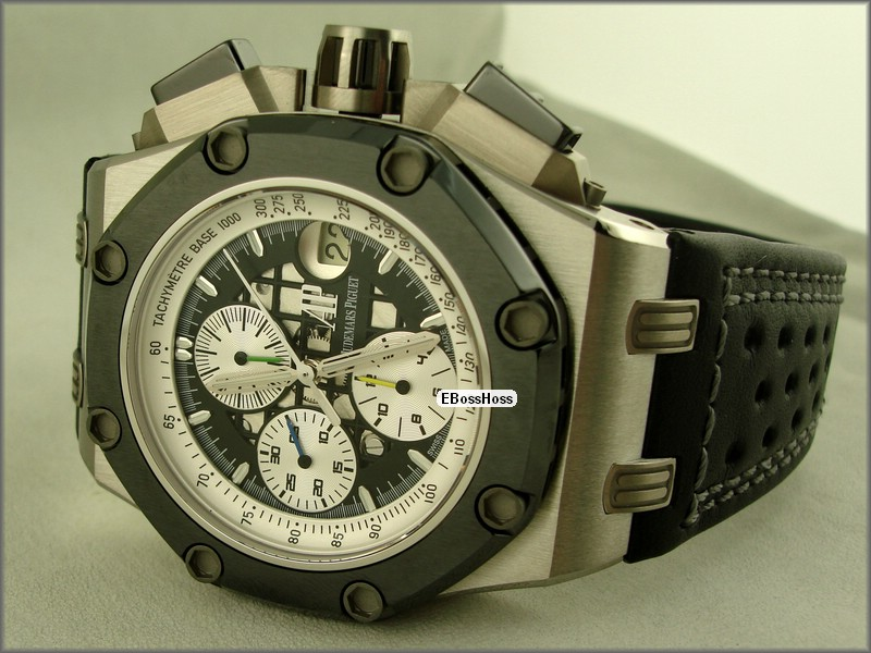 AP Royal Oak Offshore Barrichello II (Titanium/Ceramic)