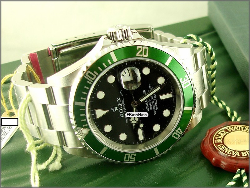 Rolex  SS 50th Anniversary Submariner - Ref. 16610LV