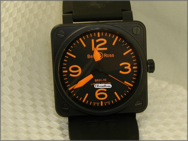 Bell & Ross Instrument BR-01 92 Orange