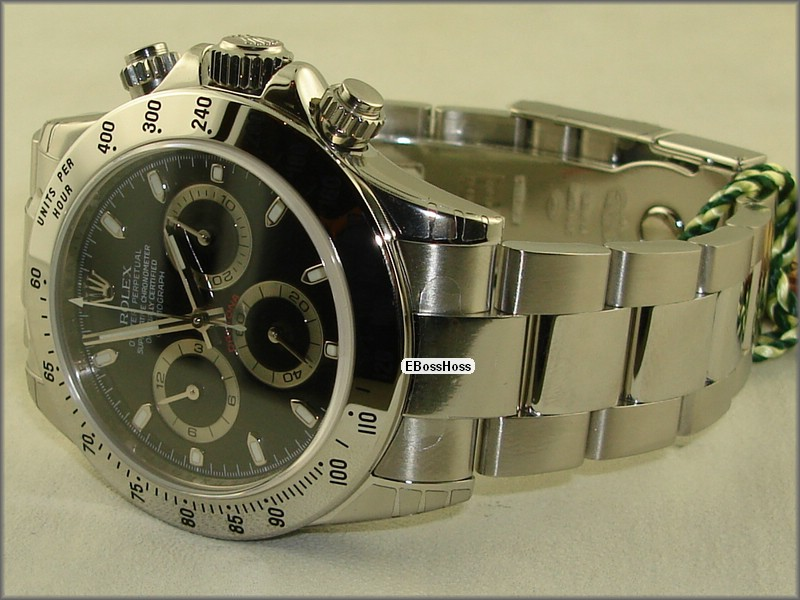 Rolex Oyster Cosmograph Daytona (SS; Black)