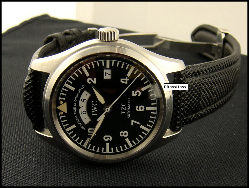 IWC  Pilot Watch Spitfire UTC TZC (Stainless Steel)