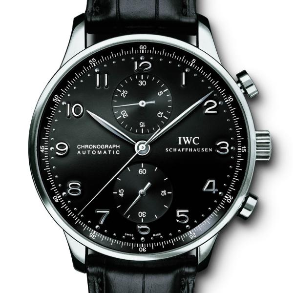 IWC  Portuguese Chronograph in 18K WG IWC-3714-31
