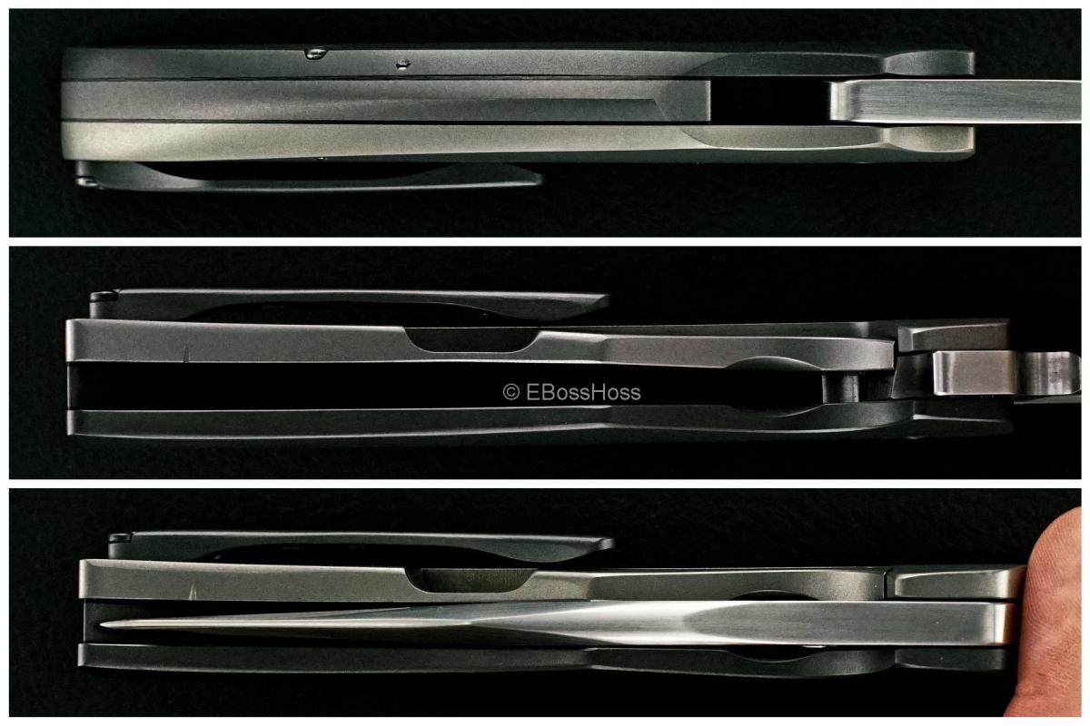 Tashi Bharucha Custom Zirconium-Handle Stardust XLF Flipper