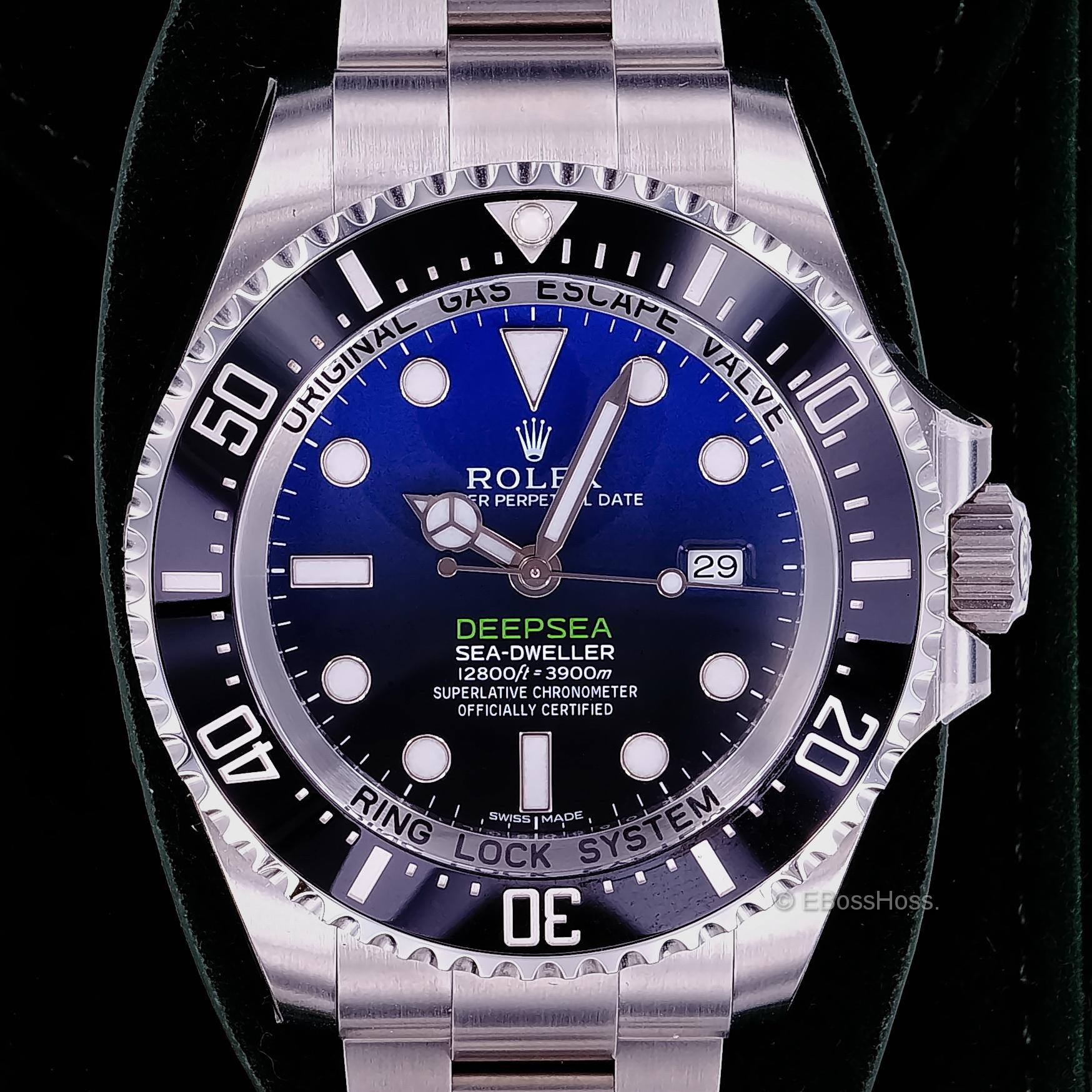 Rolex DEEPSEA SEA-DWELLER Deep-Blue - 44mm - Ref 116660