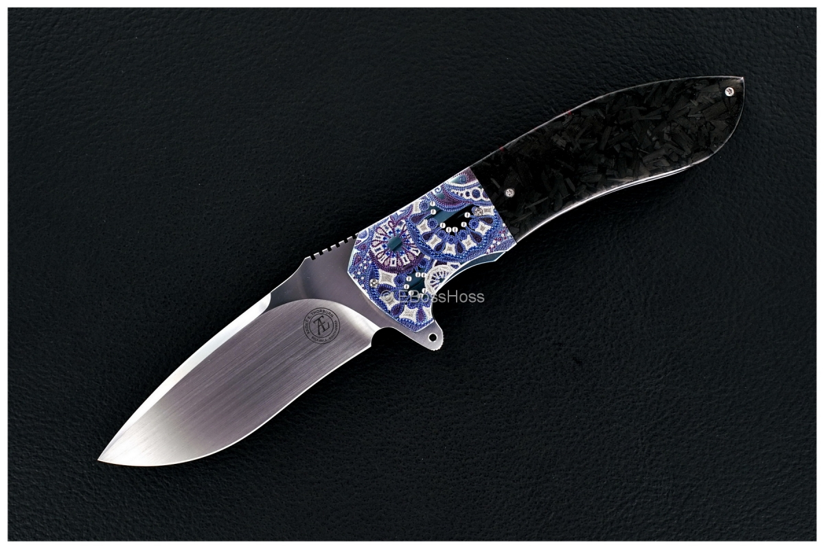 Andre Thorburn Custom Engraved Model L50F Flipper