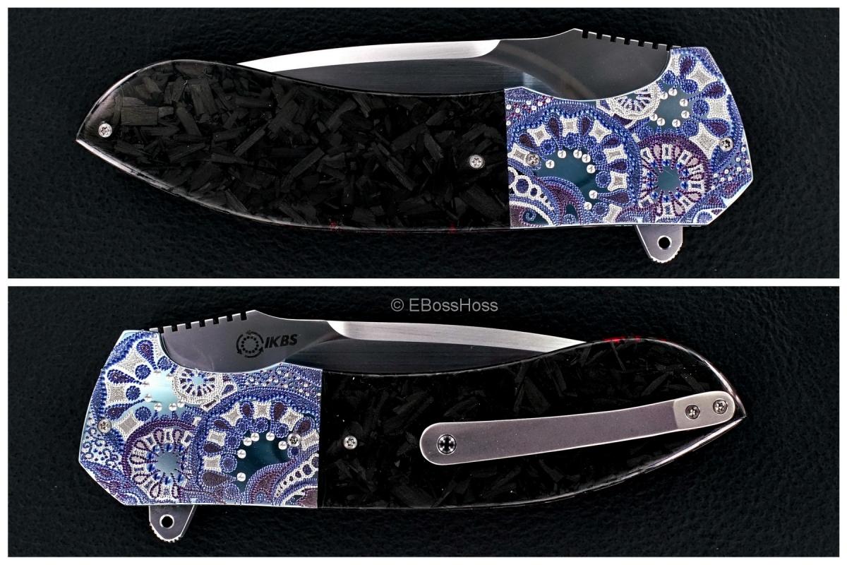 Andre Thorburn Custom Engraved Model L50F Flipper