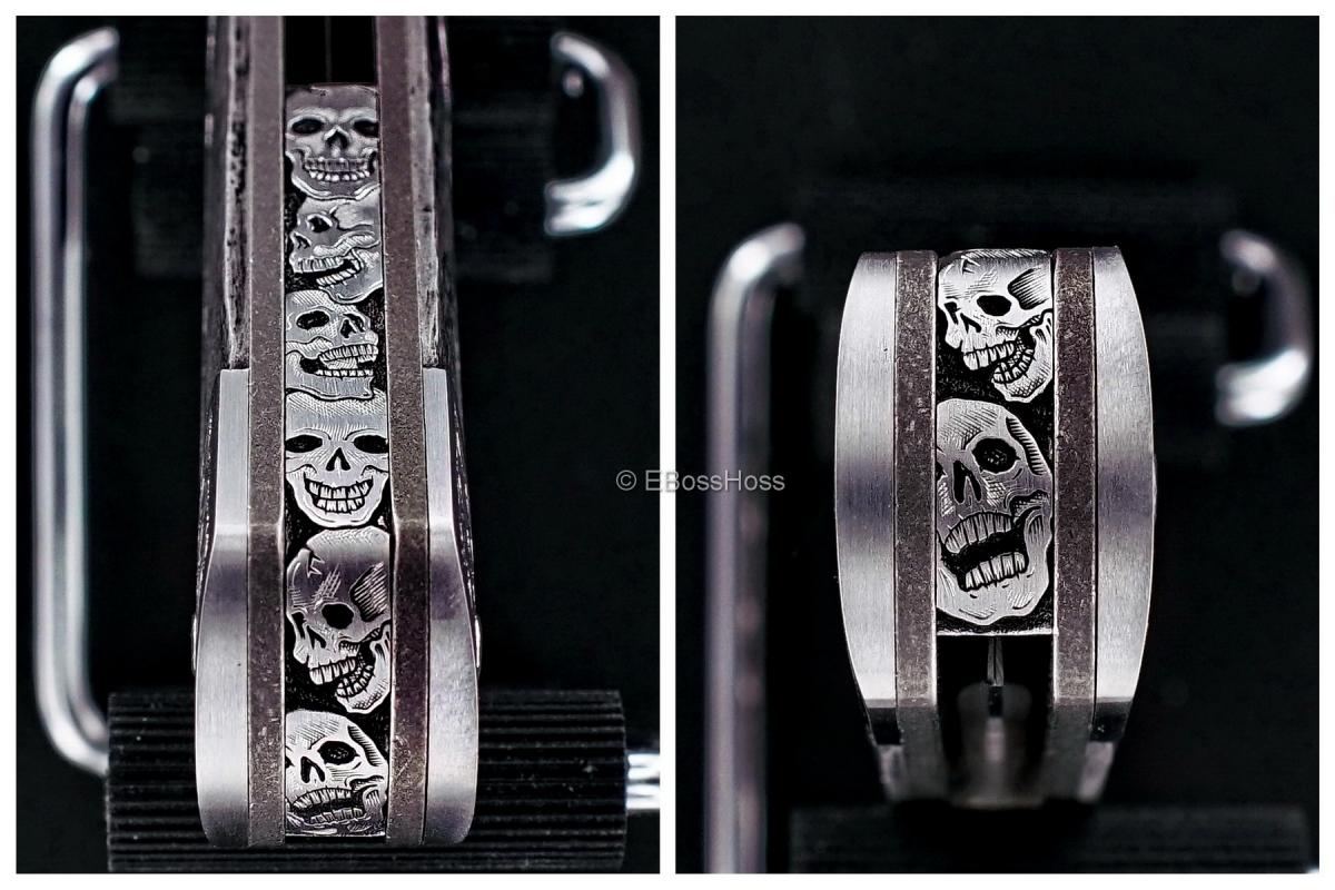 Tom Ferry Engraved Skull Crusher Radical Flipper