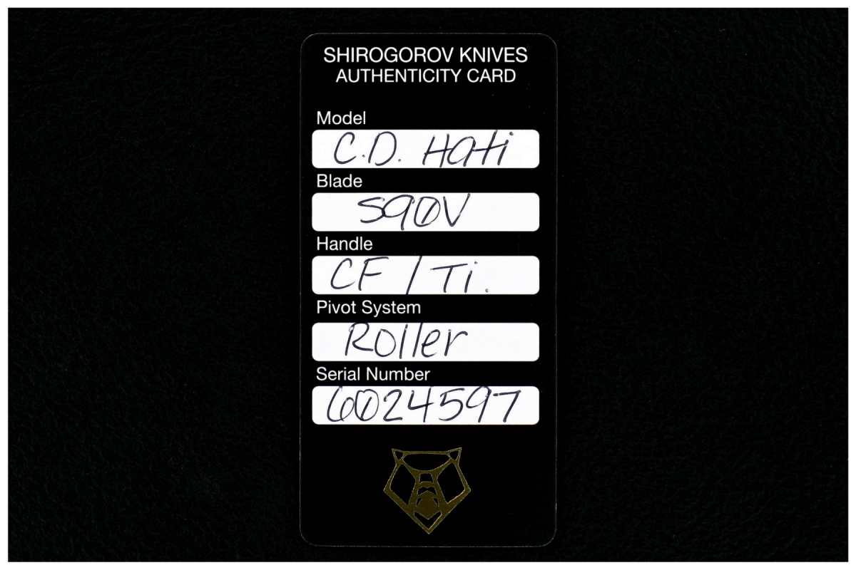 Sergey Shirogorov Custom Division Hati Seashell Flipper