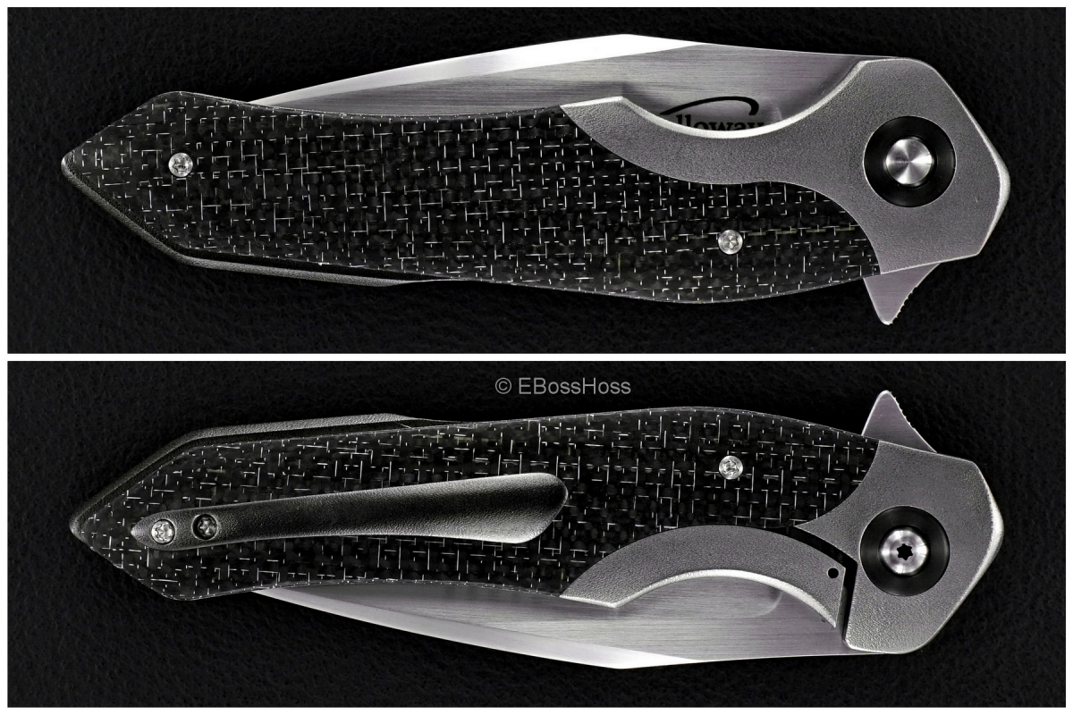 Daniel Galloway Custom Bentley Bolsterlock Flipper