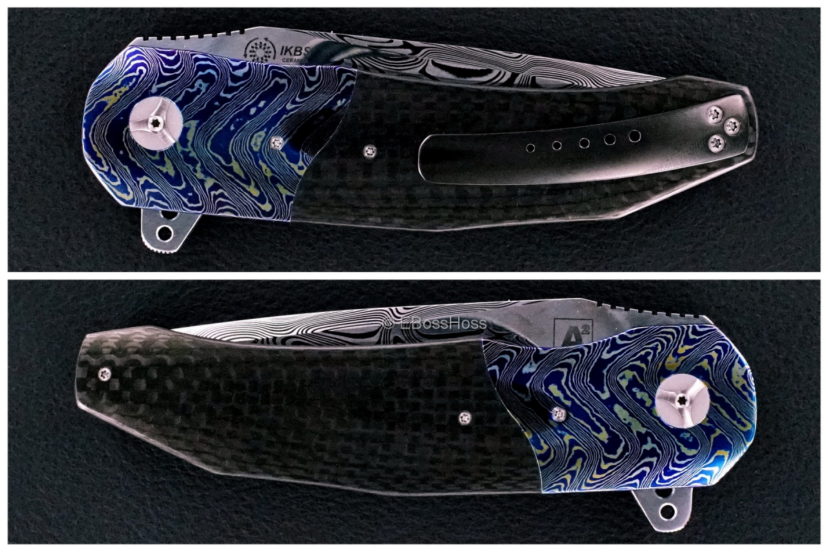 A2 Knives (by Andre Thorburn & Andre Van Heerden) Premium A3 Flipper