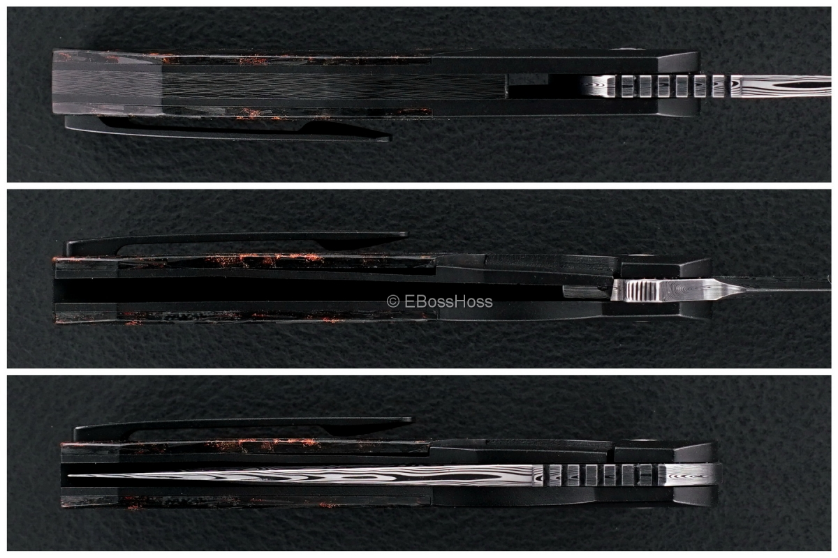 A2 Knives (Andre Thorburn & Andre Van Heerden) Custom Premium A5 Bolsterlock Flipper