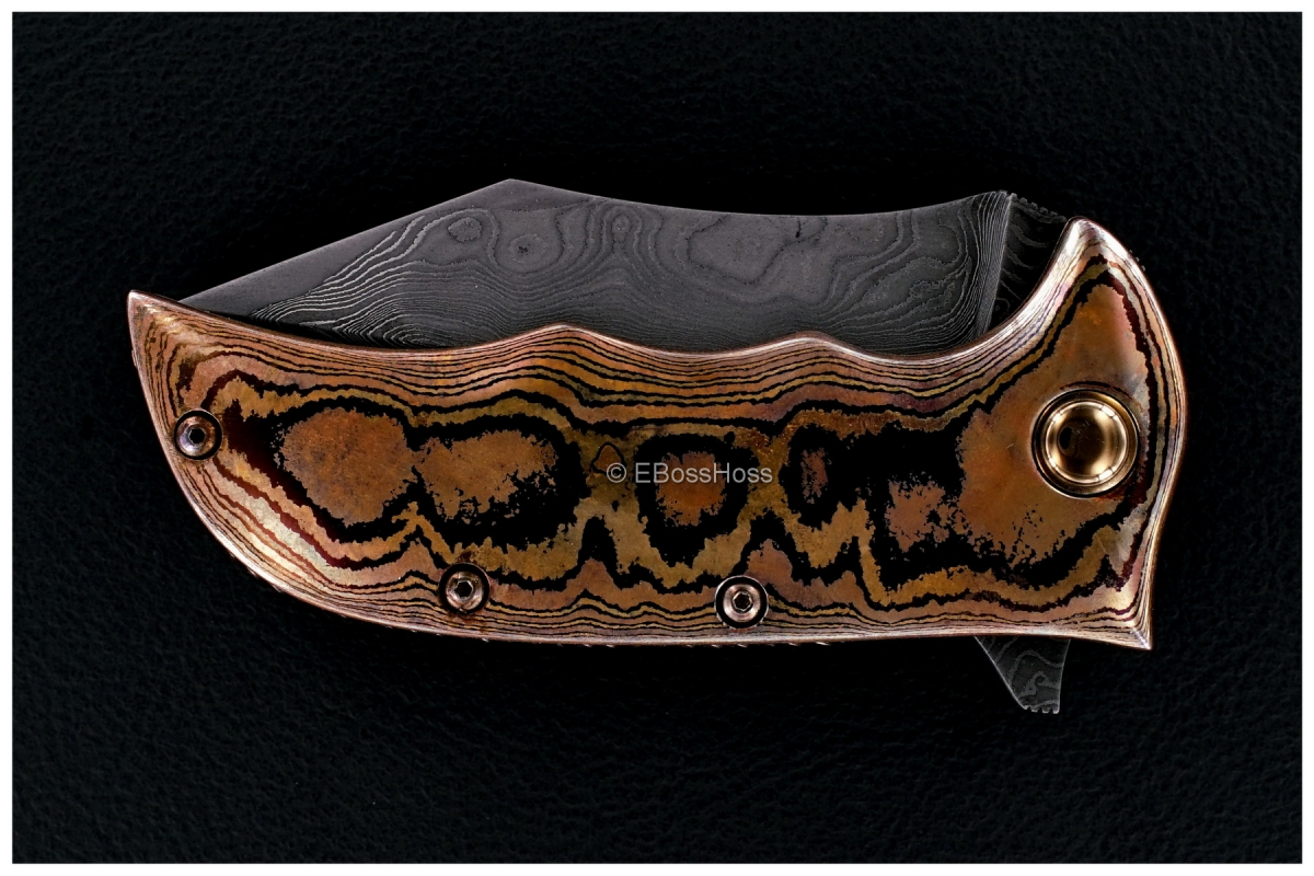 Alistair Bastian (Bastian Knives) Custom Taipan Flipper