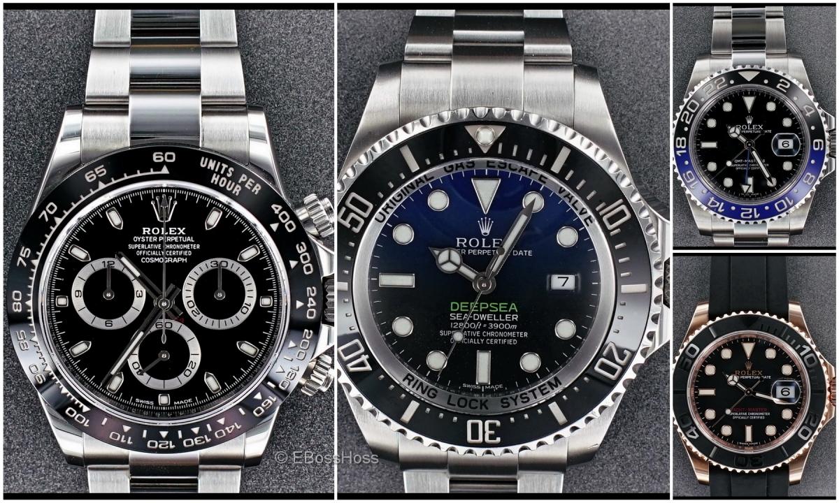 Rolex Sport Wish List