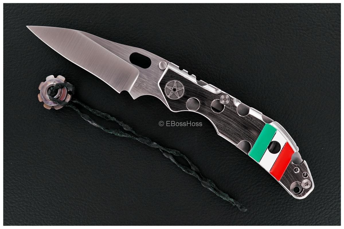 Duane Dwyer (Strider Knives) Custom BBN-M Recurve Pike Folder
