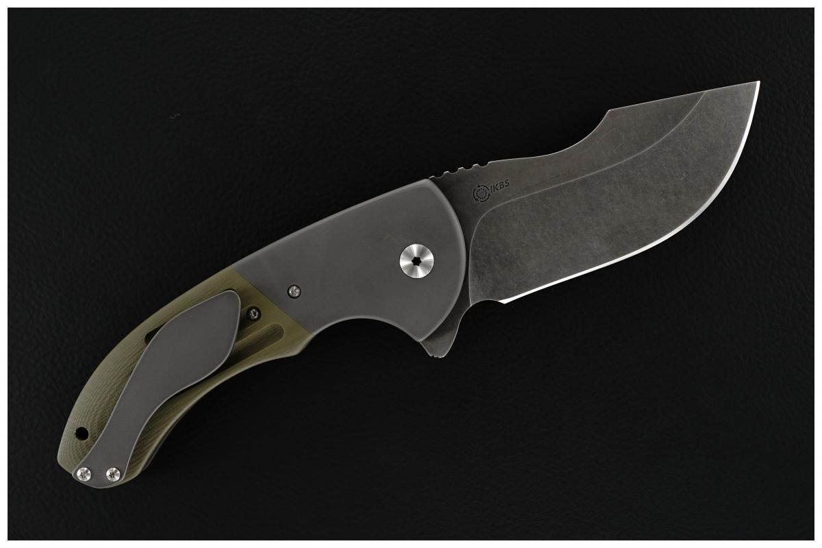 Walter Randolph (WR Bladeworks) Custom Bolstered SKF Flipper