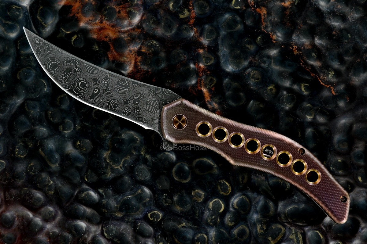 Gerry McGinnis Custom Mini Persian Flipper - 2017 TKI