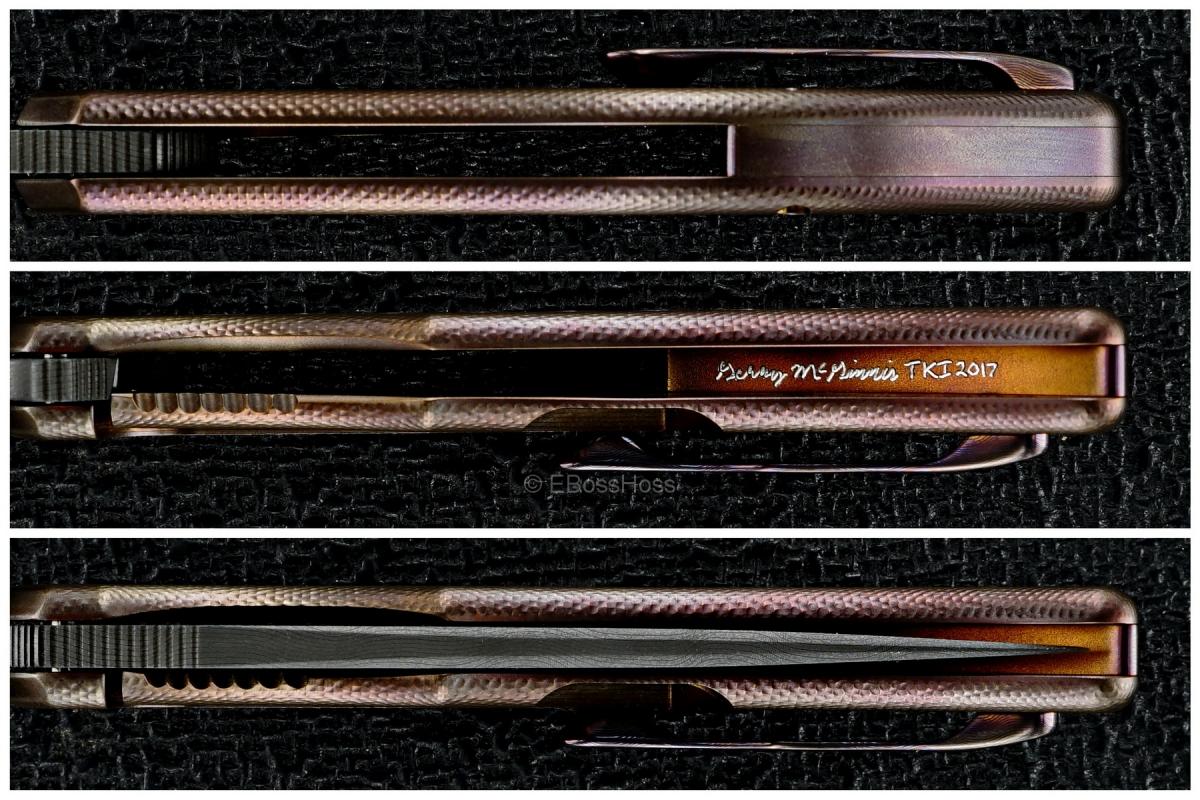 Gerry McGinnis Custom Mini Persian Flipper - 2017 TKI