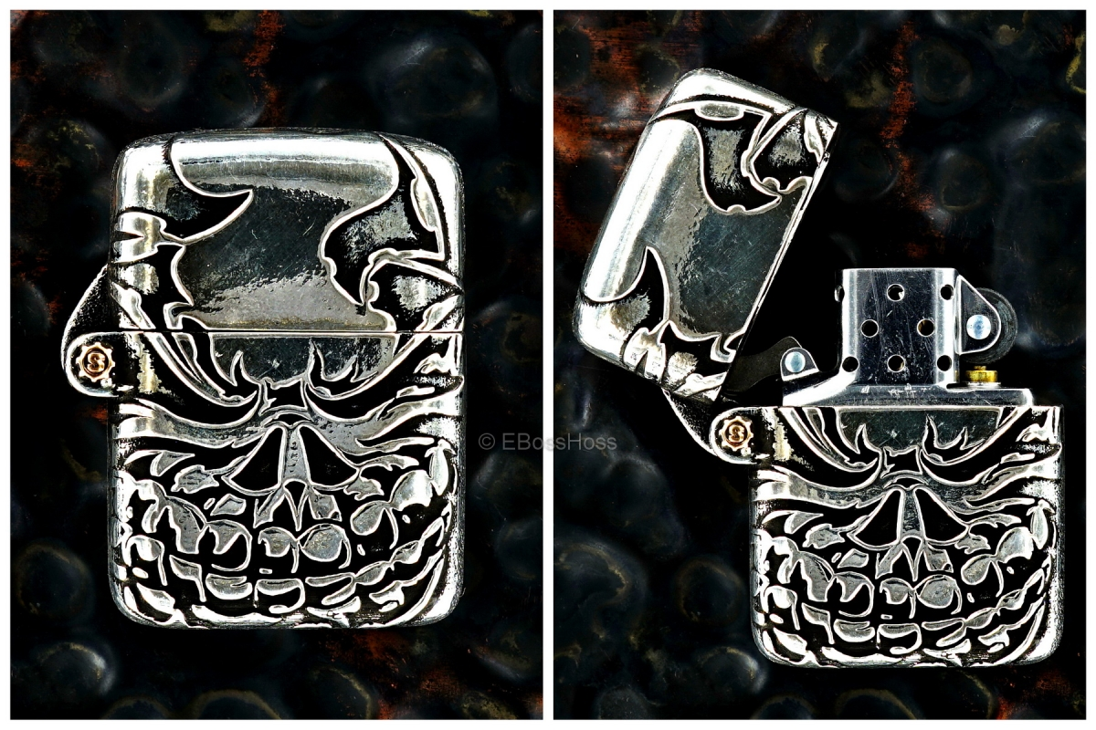 Starlingear Custom Cast Sterling-Silver Slickster Lighter