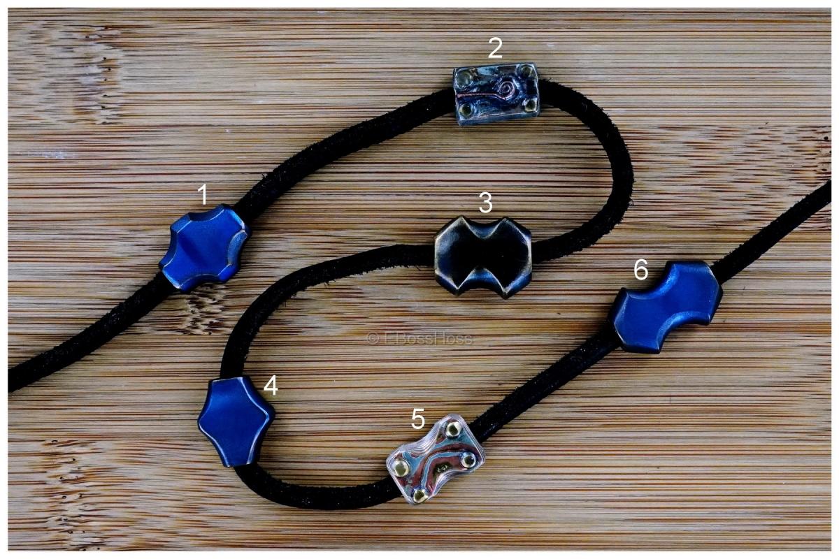 Rick Lala (Korth) Hand-ground Titanium Beads