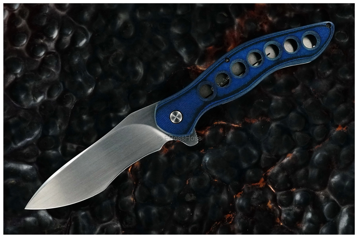 Gerry McGinnis Custom Black & Blue Peligro R Flipper