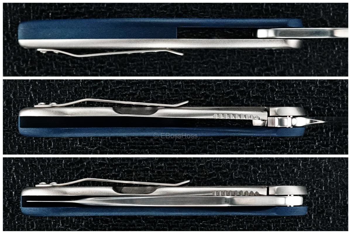 Gerry McGinnis Custom Black & Blue Peligro R Flipper