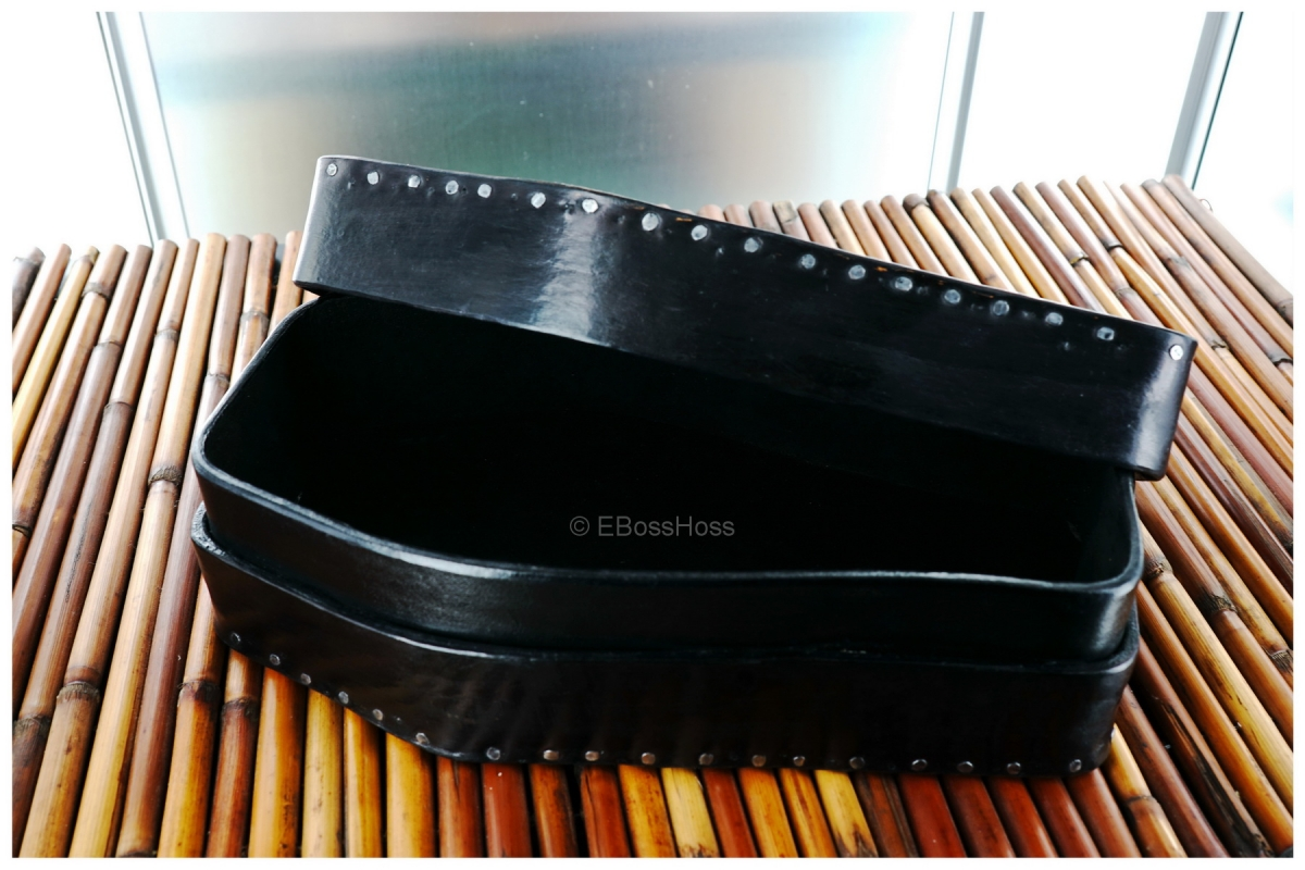 Hand-made Custom Leather Coffin Valet by Starlingear's Greg Everett, Leathersmith