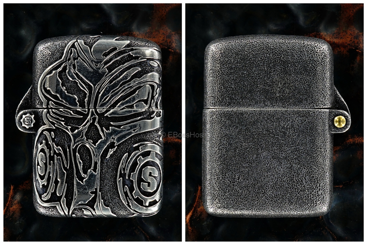 Starlingear Custom Cast Sterling Silver Gasser Lighter