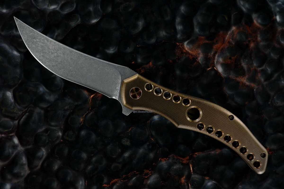Gerry McGinnis Custom Mini Persian Flipper