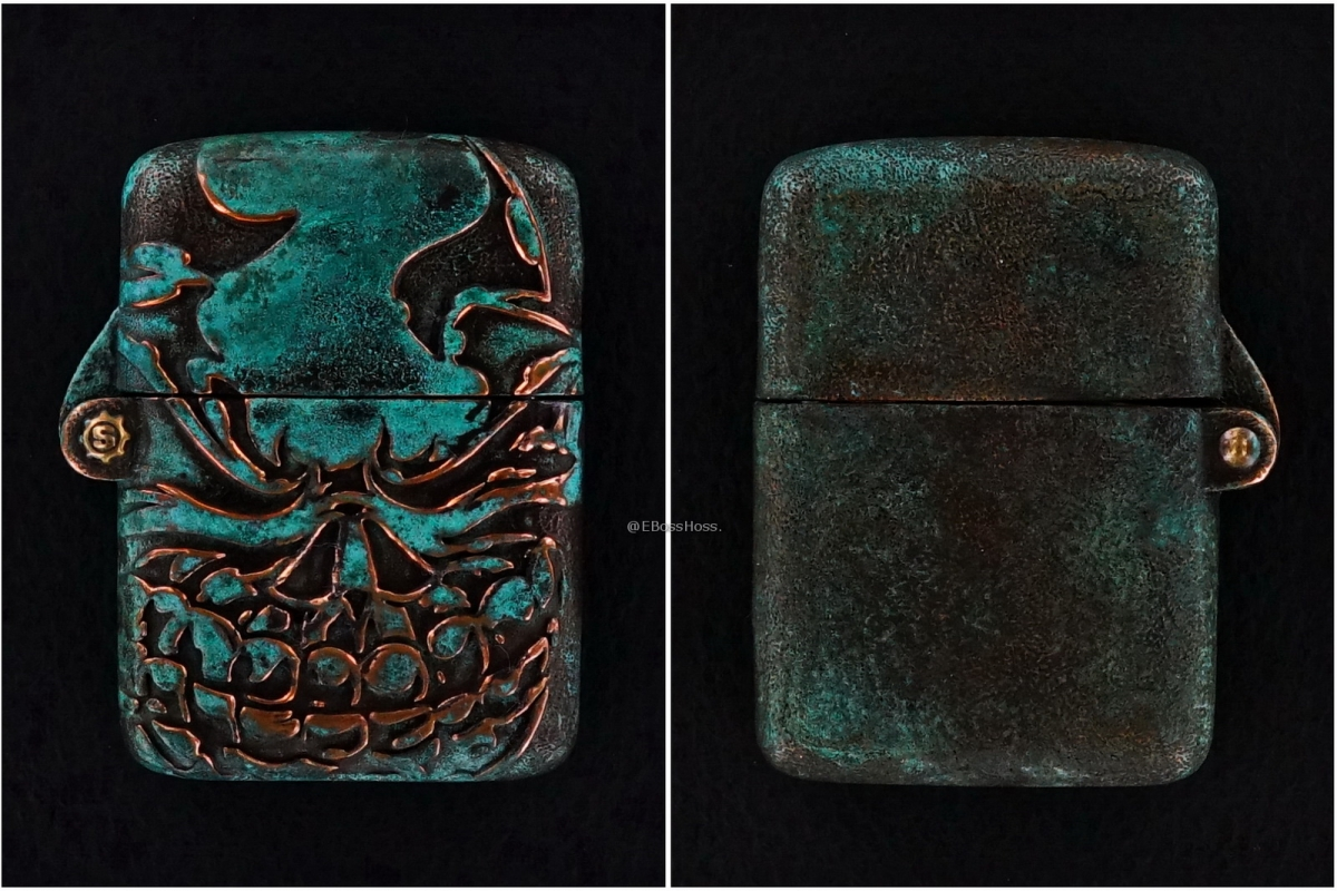 Starlingear Custom Cast Copper Slickster Zippo Lighter