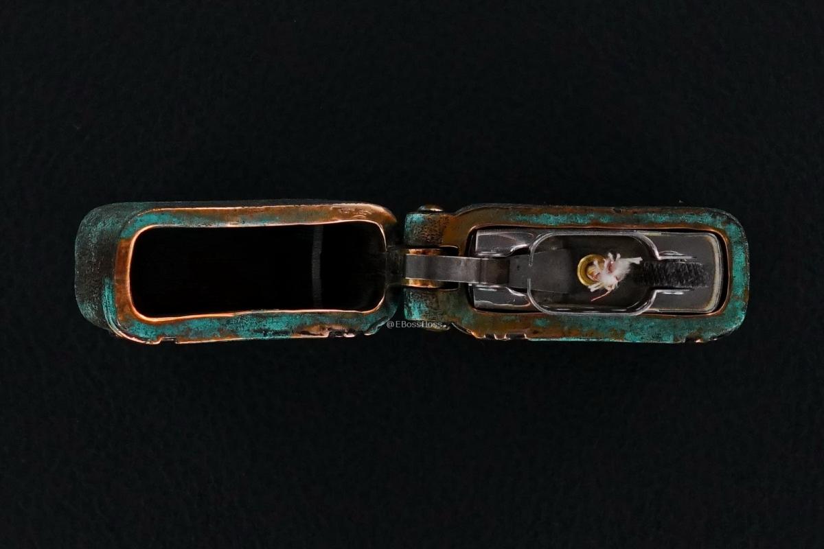 Starlingear Custom Cast Copper Slickster Zippo Lighter