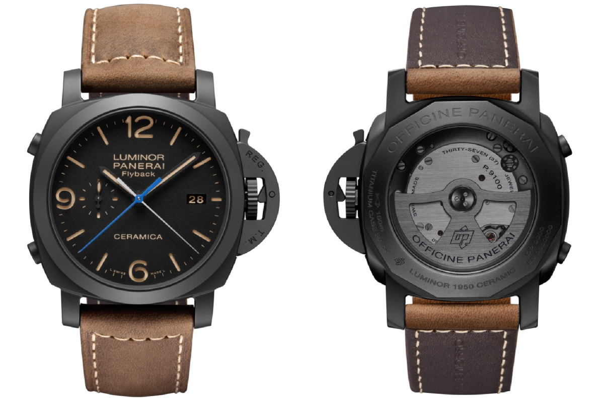 Panerai (Officine Panerai) 580 Luminor Ceramica Flyback Chrono - PAM00580