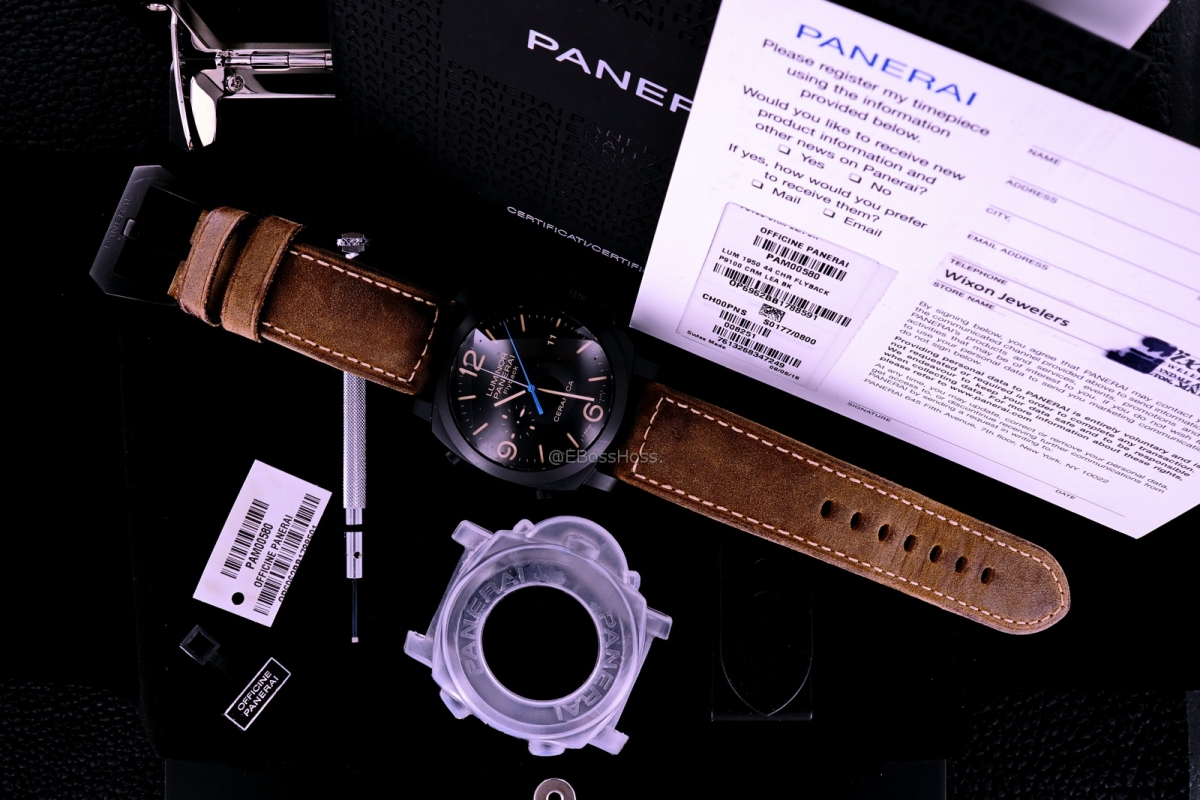 Panerai (Officine Panerai) 580 Luminor Ceramica Flyback Chrono - PAM00580