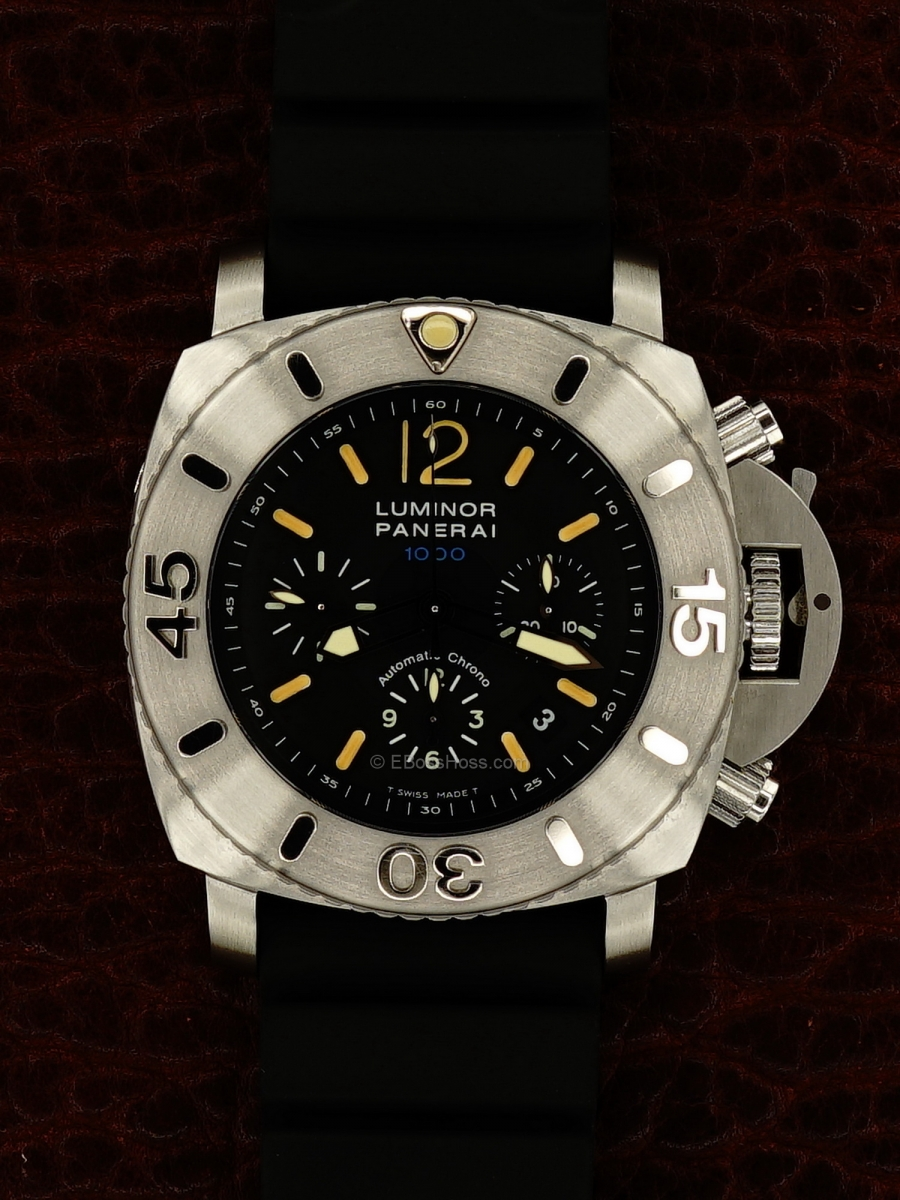 Panerai (Officine Panerai) 187 LUMINOR Submersible Chrono 1000 - 47MM - PAM00187