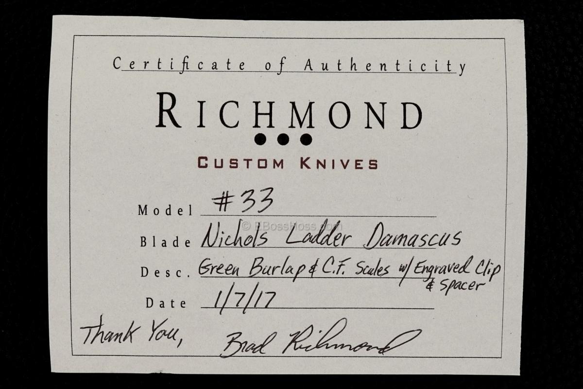Brad Richmond Custom Deluxe No 33 Flipper